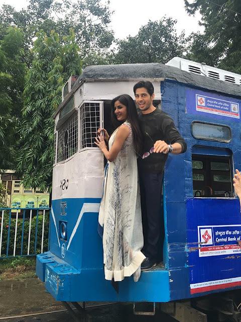 katrina kaif, siddarth malhotra baar baar dekho movie promotions in kolkata