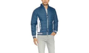 Qube by Fort Collins Men Bomber Jacket For Rs 799 + 120 CB (Mrp 1999) Amazon