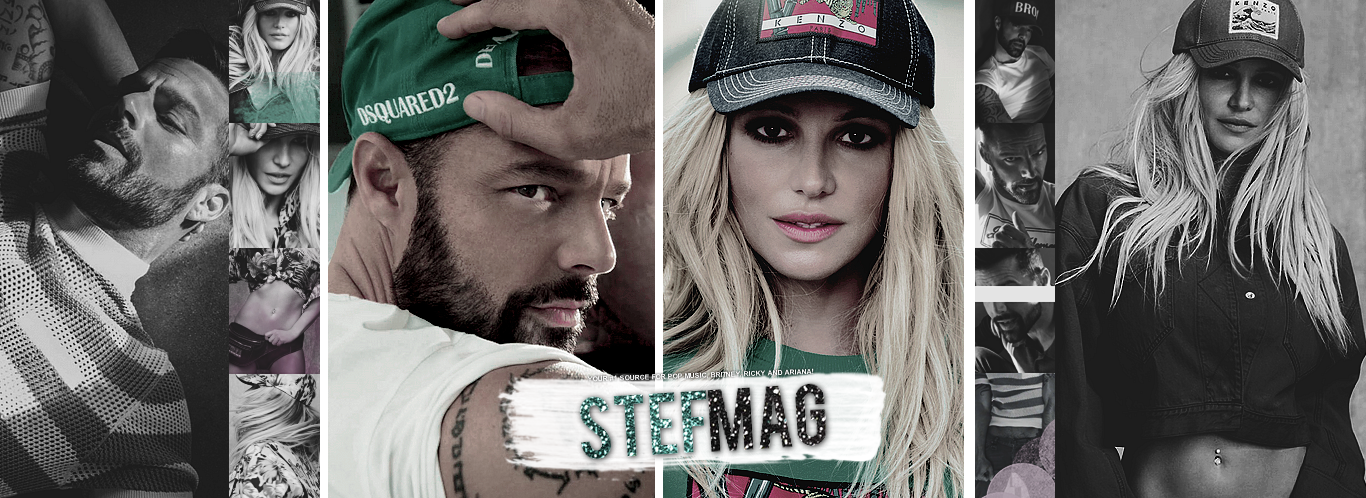 Stef Mag • Pop Müzik, Britney Spears & Ricky Martin Fan Site, Gallery and Updates!