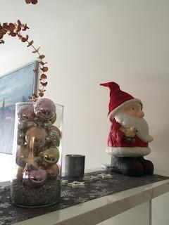 Weihnachtsmann aus Ton für Innen