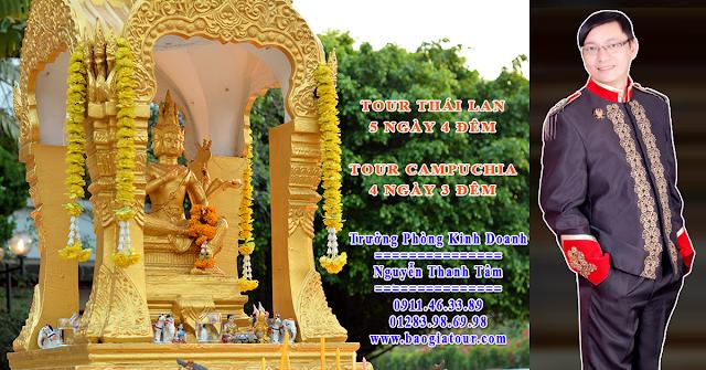 Báo giá tour du lịch Thái Lan 5 ngày 4 đêm