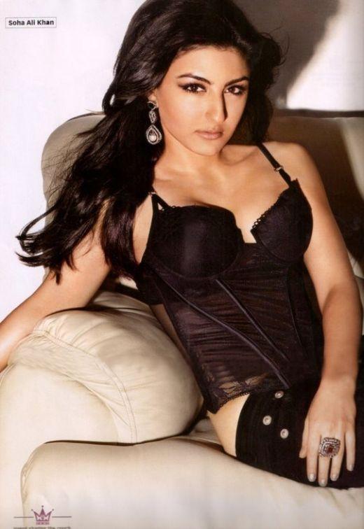 Indian Hot Actress Soha Ali Khan Mms Scandal  Busty Gf -5670