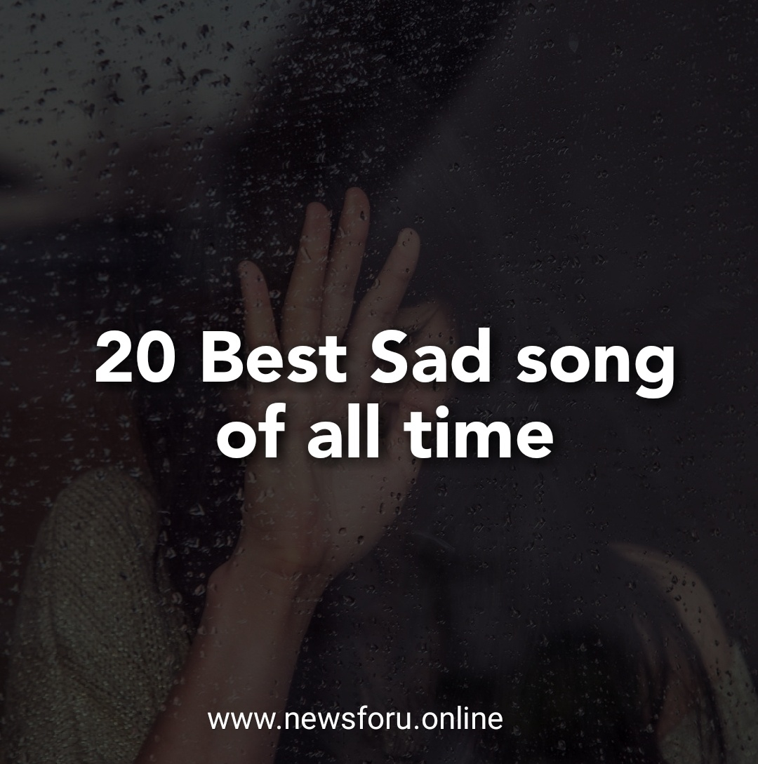 Songs that will make you sad