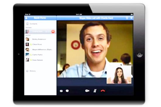 skype ipad app new