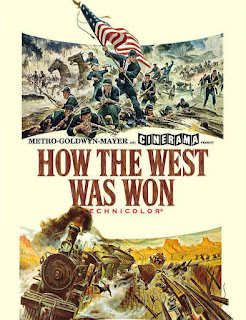 Cartel de la película How the West Was Won, La conquista del Oeste, 1962