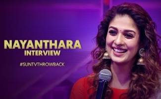 Interview with Nayanthara