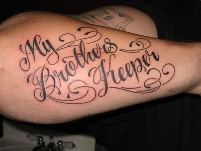 Cursive Tattoo F...K Design Tattoo
