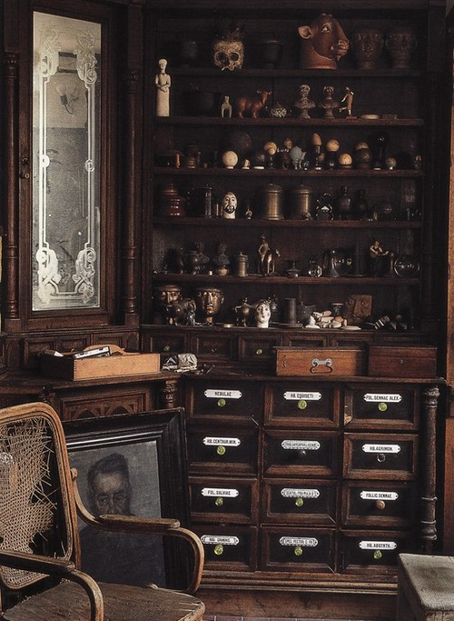 Heaven Can Wait Cabinet Of Curiosities