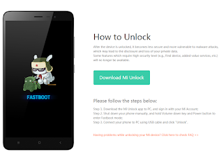 How to UBL (Unlock Bootloader) Xiaomi Mi 9