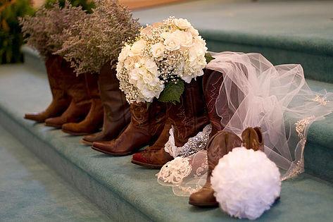 Cowboy Boots Wedding Photography