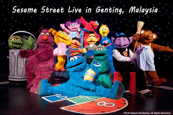 Sesame Street Live in Malaysia – Elmo Makes Music