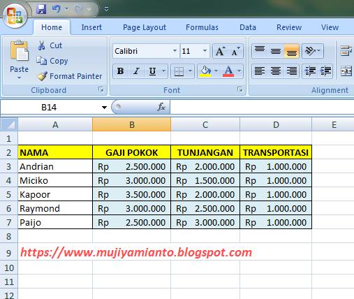 Latihan Soal Excel Pembuatan Grafik Disertai Contoh Latihan