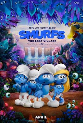 Smurfs The Lost Village 2017 DVD R1 NTSC Latino
