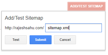 Add/Test Sitemap