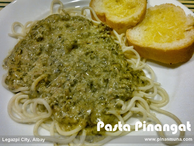 Pasta Pinangat of Small Talk Cafe Legazpi City