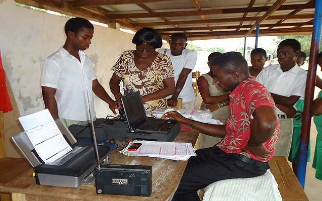 Voter Registration exercise ends today