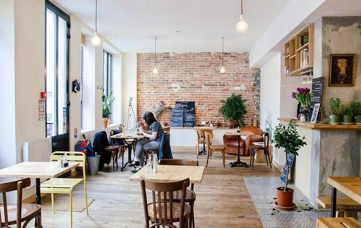 interior cafetería