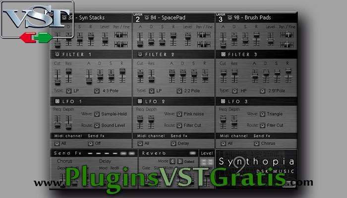 DSK Synthopia 2 - Plugin VST Sintetizador Grátis