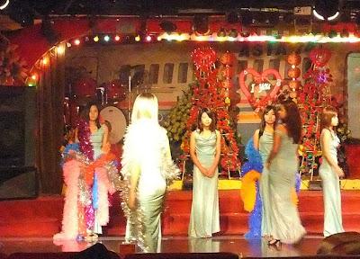 Myanmar nightlife show
