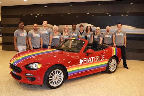 Fiat Motor City Pride Spider