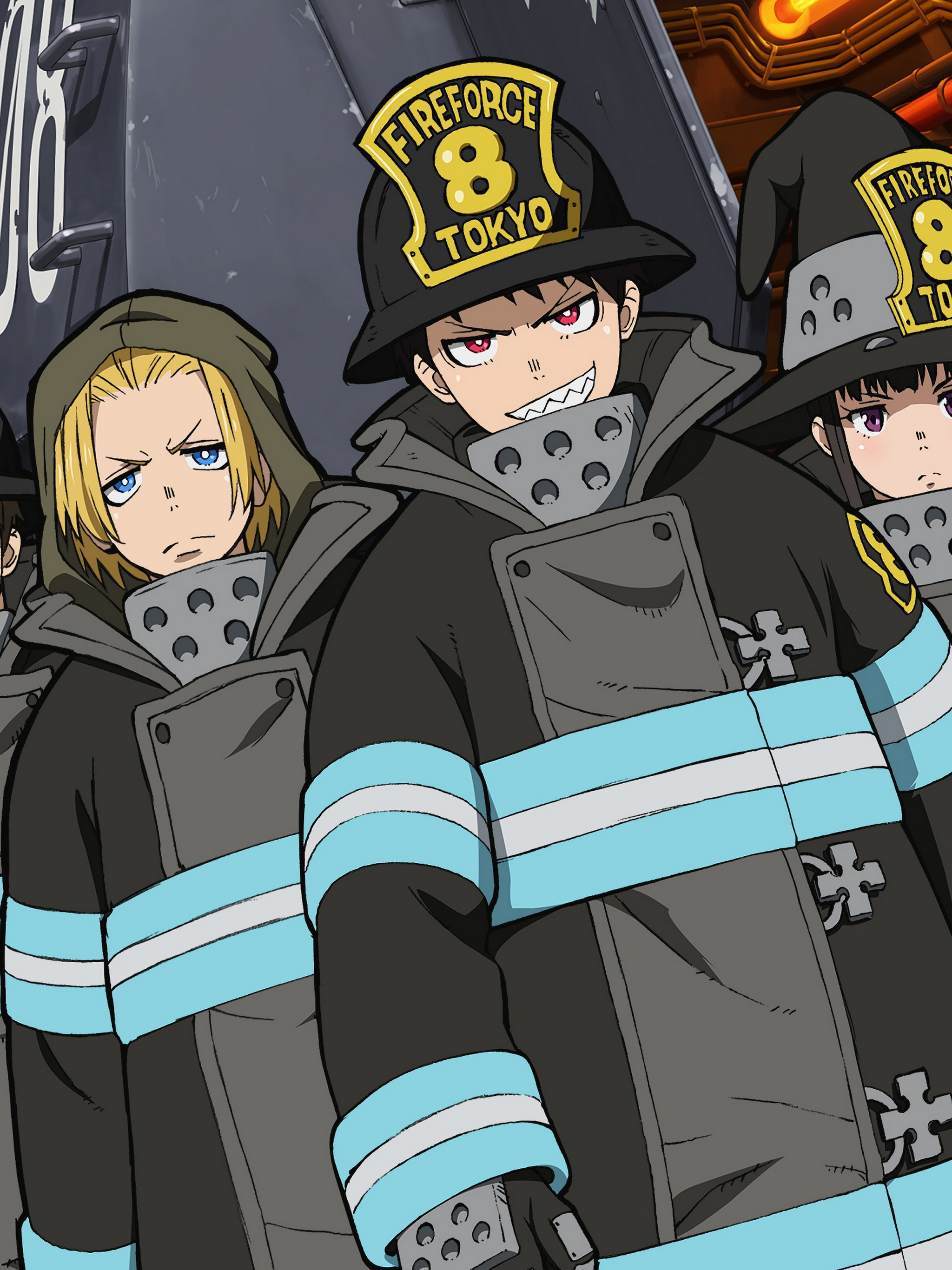 Fire Force Characters Special Fire Force Company 8 4k Wallpaper 37