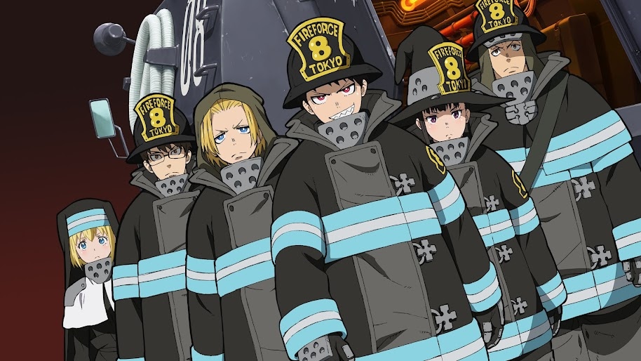 Fire Force Characters Special Fire Force Company 8 4k Wallpaper 37 Fire force ringtones and wallpapers. fire force characters special fire