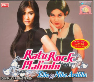 Nike Ardilla & Ella Album  Ratu Rock Malindo