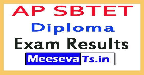 AP SBTET Diploma Exam Results