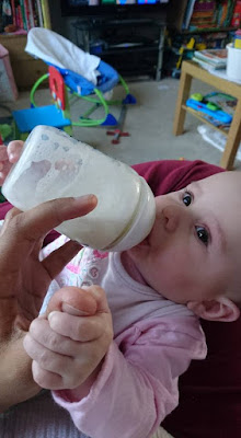 Testing Out Similac Follow On Milk