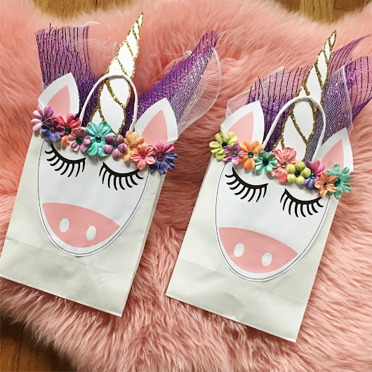 Whimsy Wednesday: DIY Unicorn Goody Bags