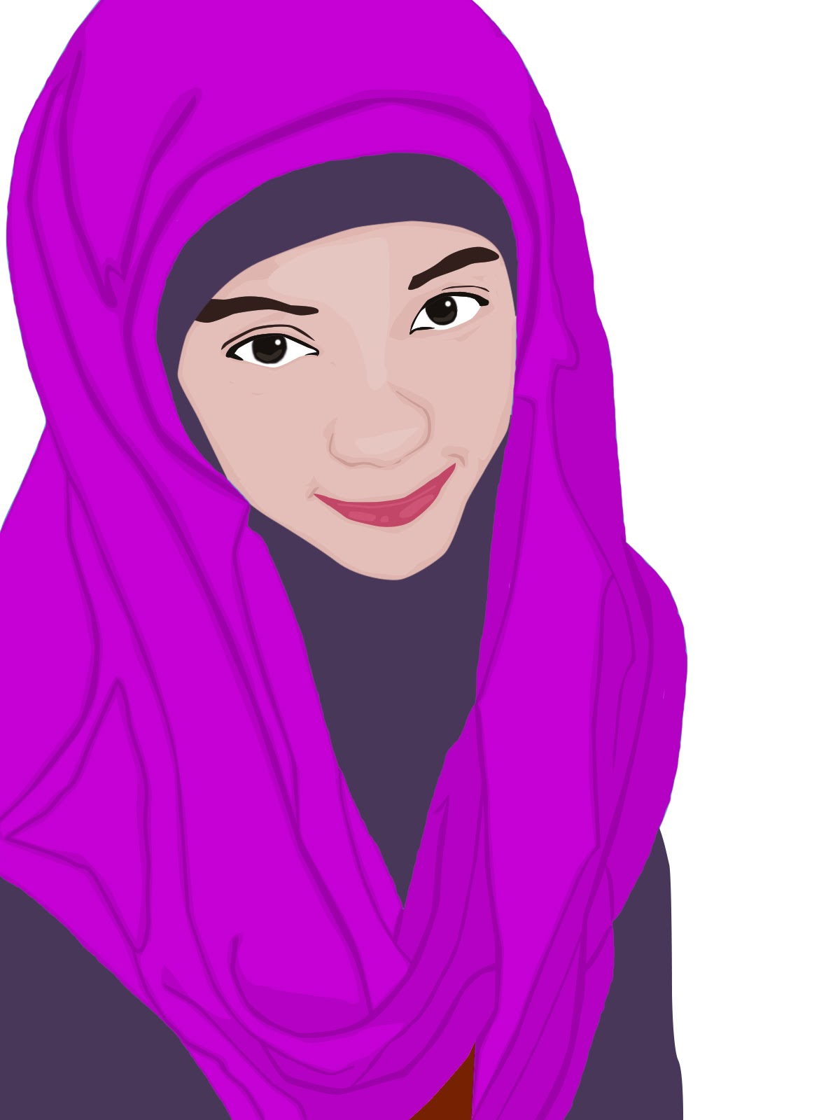 kartun anak muslimah