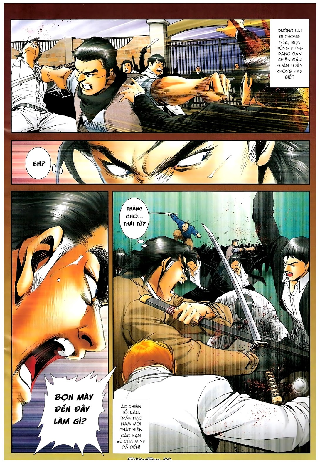 Người Trong Giang Hồ - Chapter 1219: Sống chết cũng theo - Pic 17