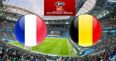 Live Streaming France vs Belgium Separuh Akhir Piala Dunia 11.7.2018