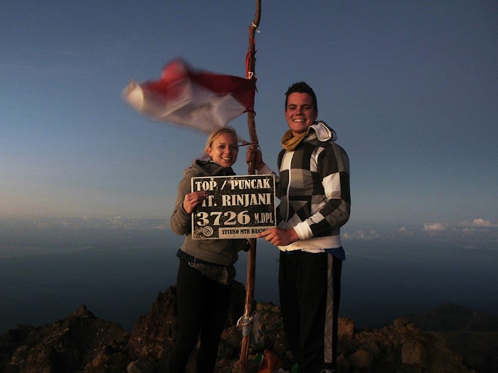 Want to hike Rinjani's peak in a bit of time