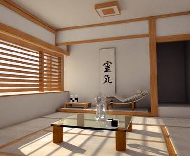 Desain Ruangan Minimalis ala Jepang Natural dan Elegan