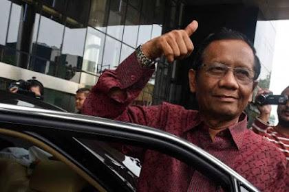 BPN Laporkan Jokowi ke Bawaslu, Ini Kata Mahfud MD