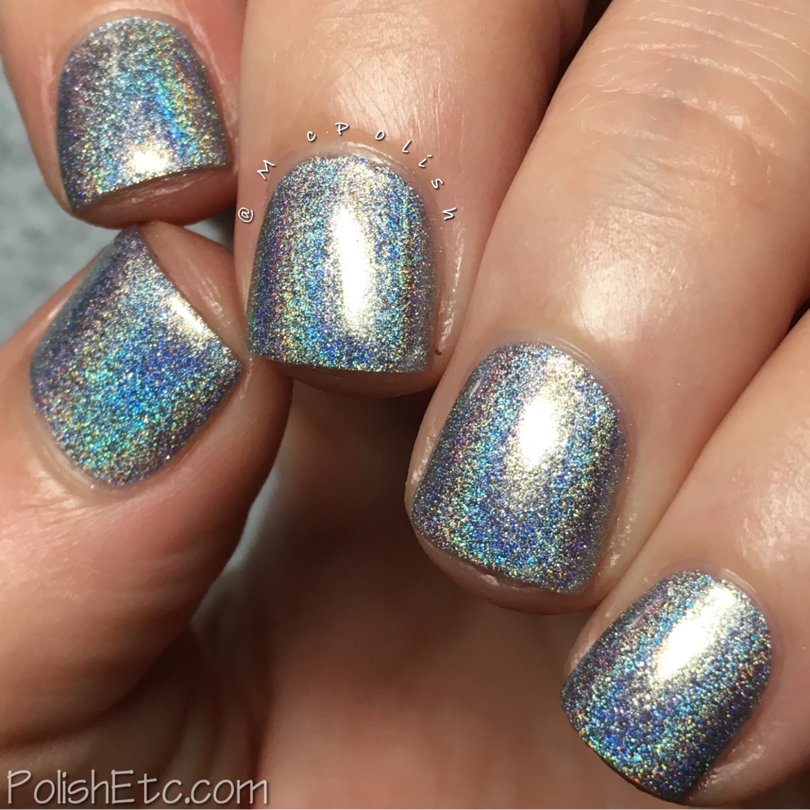 Road to Polish Con - Week 2 - McPolish - Silver Bullet by Colors by Llarowe