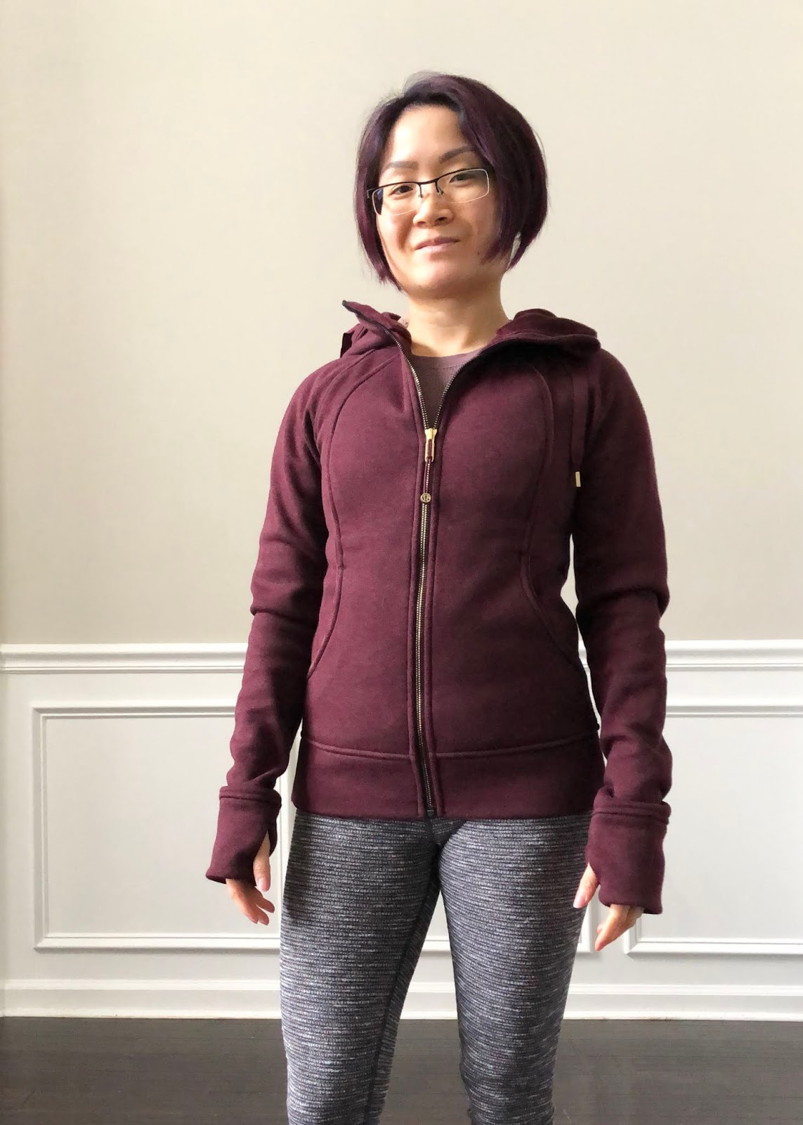 professional shop for official look for Petite Impact: Fit Review Friday! Scuba Hoodie Plush! Dark ...
