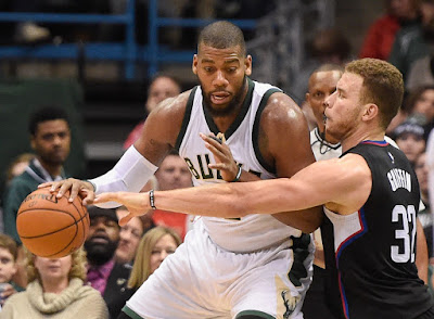 NBA : Clippers Try to Slow Down Bucks in LA