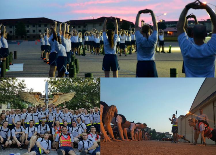Officer Training School, Air Force OTS, Air Force PT, Air Force OTS Physical Training