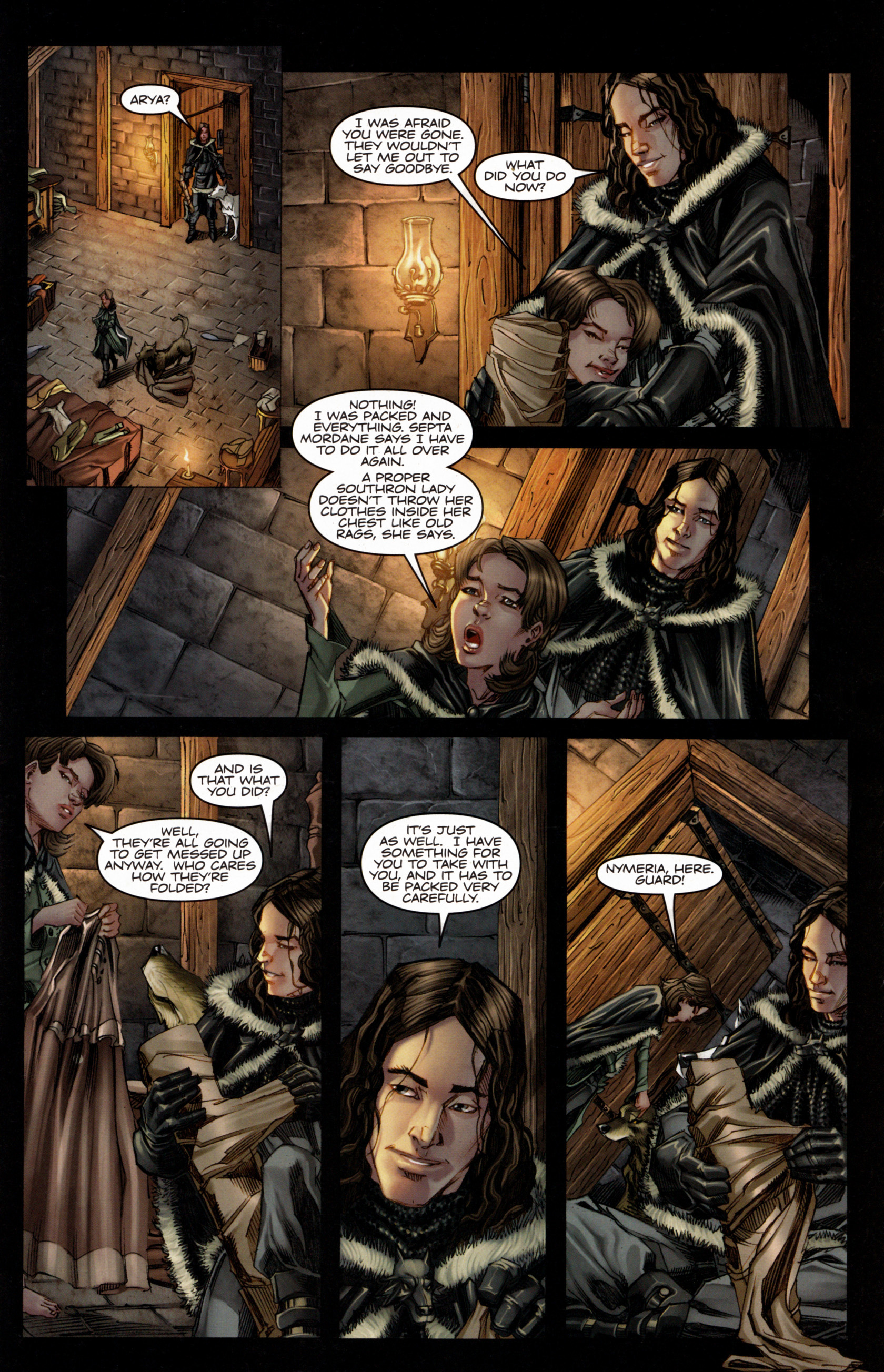Read online A Game Of Thrones comic -  Issue #4 - 7