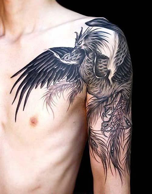 erkek omuz dövmeleri man shoulder tattoos 12