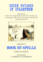 SEVEN VOYAGES of ZYLARTHEN Book of Spells