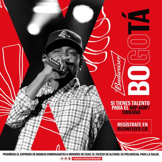 """Budweiser los está buscando: Muestra tu talento y podrás estar como artista en el """"Festival Estéreo Picnic""""."""