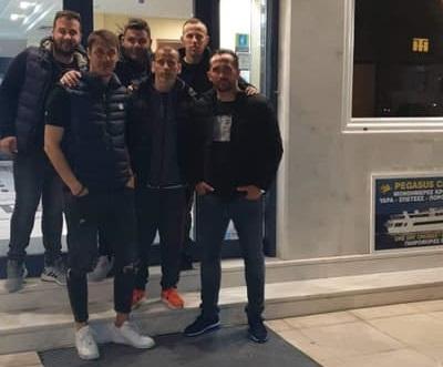 Στο Ναύπλιο για το Uefa B ο Χρήστος Ορφανουδάκης με Φάνη Γκέκα και Κώστα Κιάσσο