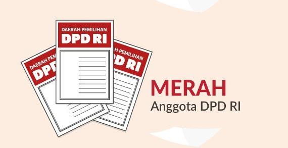 Warna Surat Suara Anggota DPD RI