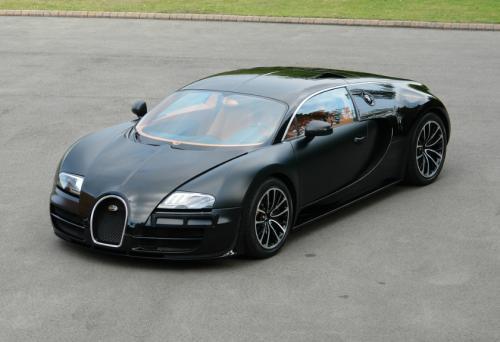 for sale matte black bugatti veyron super sport cars go. Black Bedroom Furniture Sets. Home Design Ideas