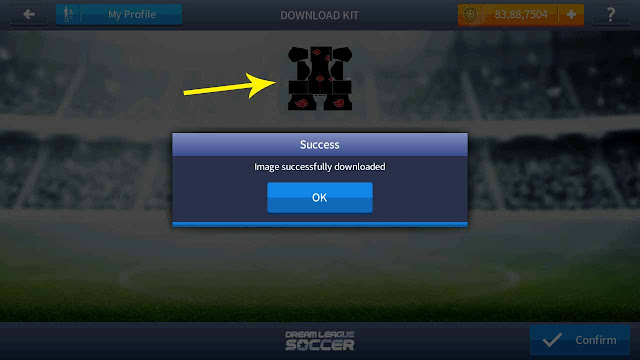 import baju dream league soccer 2017
