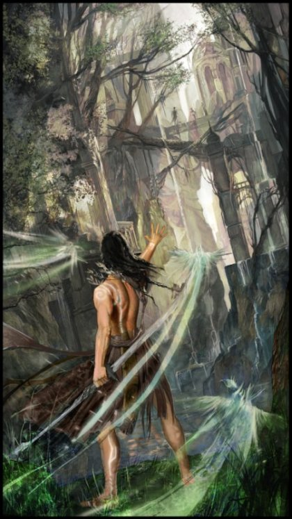 Kamila Szutenberg deviantart artstation ilustrações fantasia games mulheres anjas