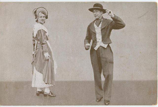 La fête du Village, danseurs de Châtel-Guyon